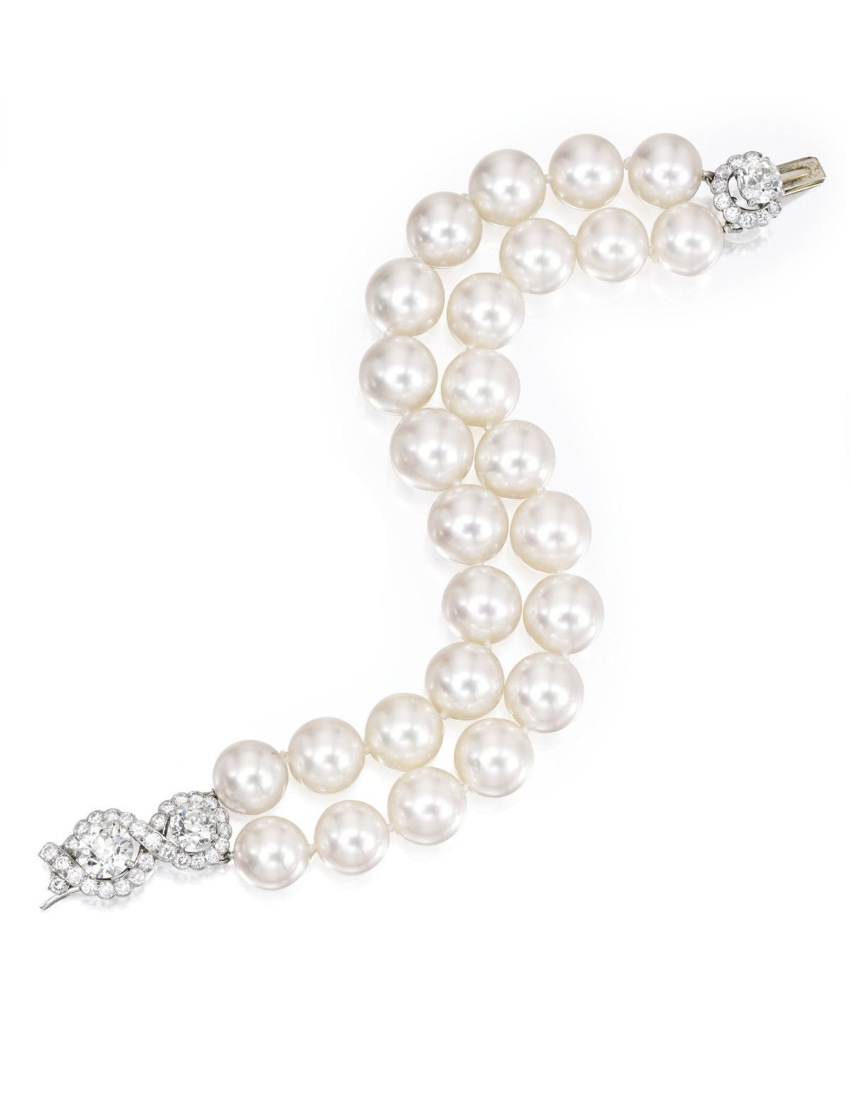 elegant make at for pin s an showing natural pearls christie jewel