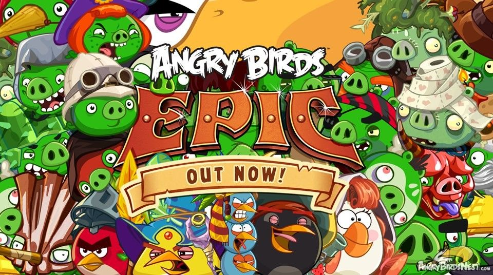 We Have Liftoff Angry Birds Epic Is Out Now For Ios Android And