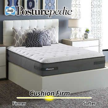 Sealy Posturepedic Plus Series Ashton Cushion Firm Cal King Mattress And Foundation Mattress