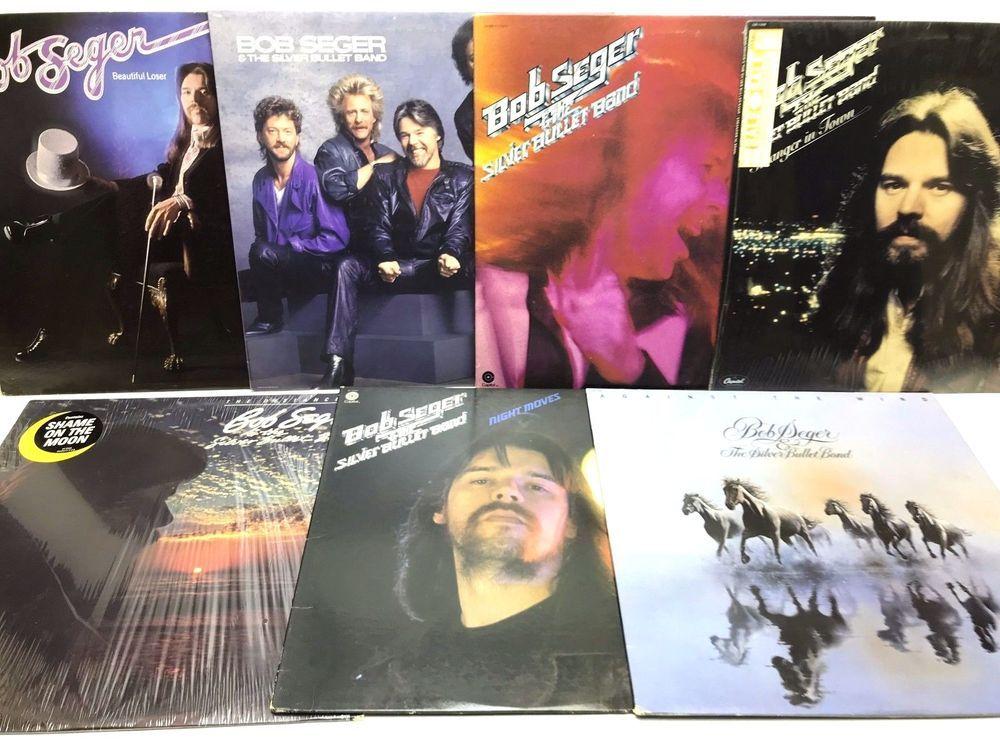Bob Seger The Silver Bullet Band Lp Vinyl Record Album Lot Night Moves Vinyl Record Album Vinyl Records Silver Bullet