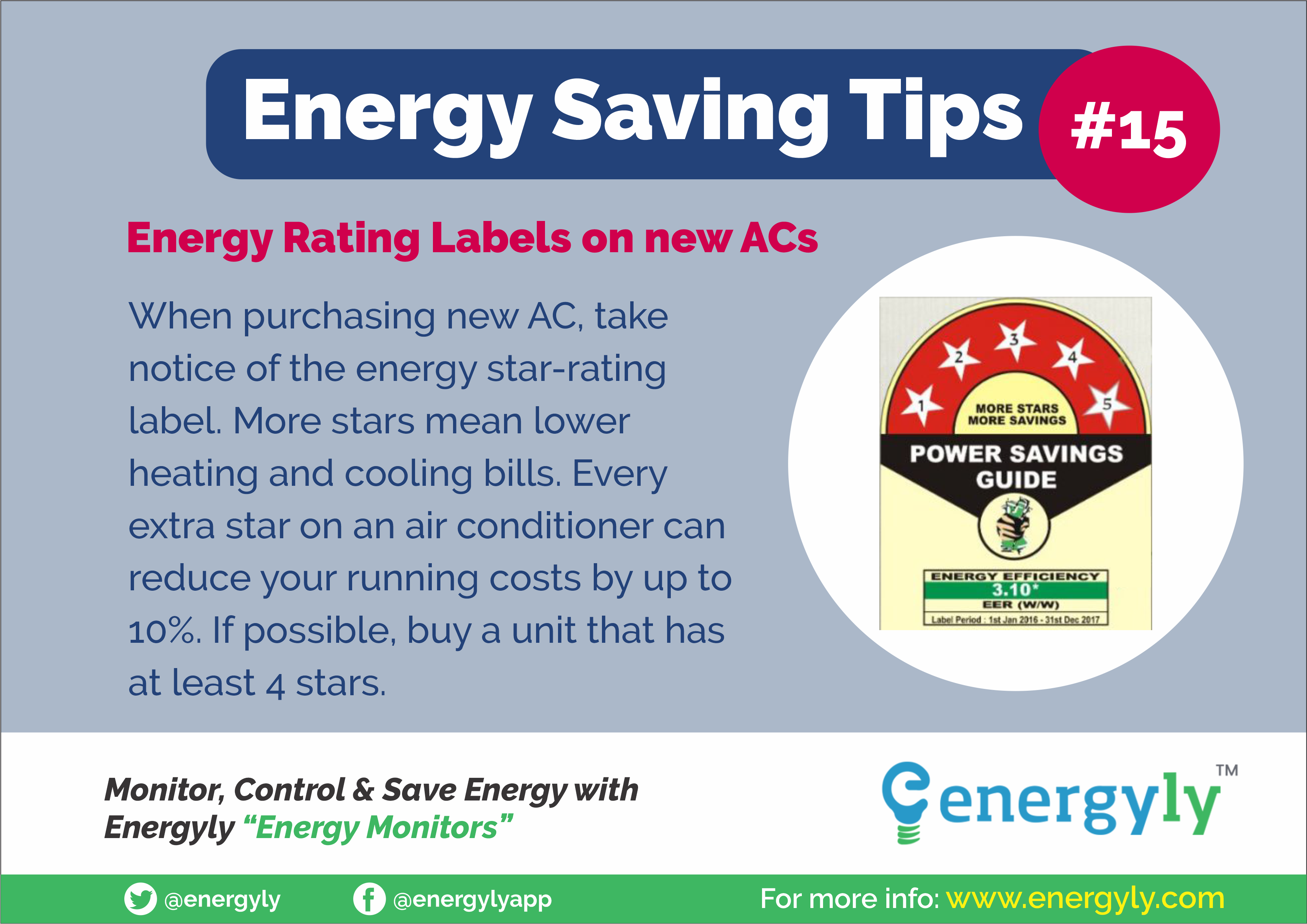 When Purchasing New Ac Take Notice Of The Energy Star Rating