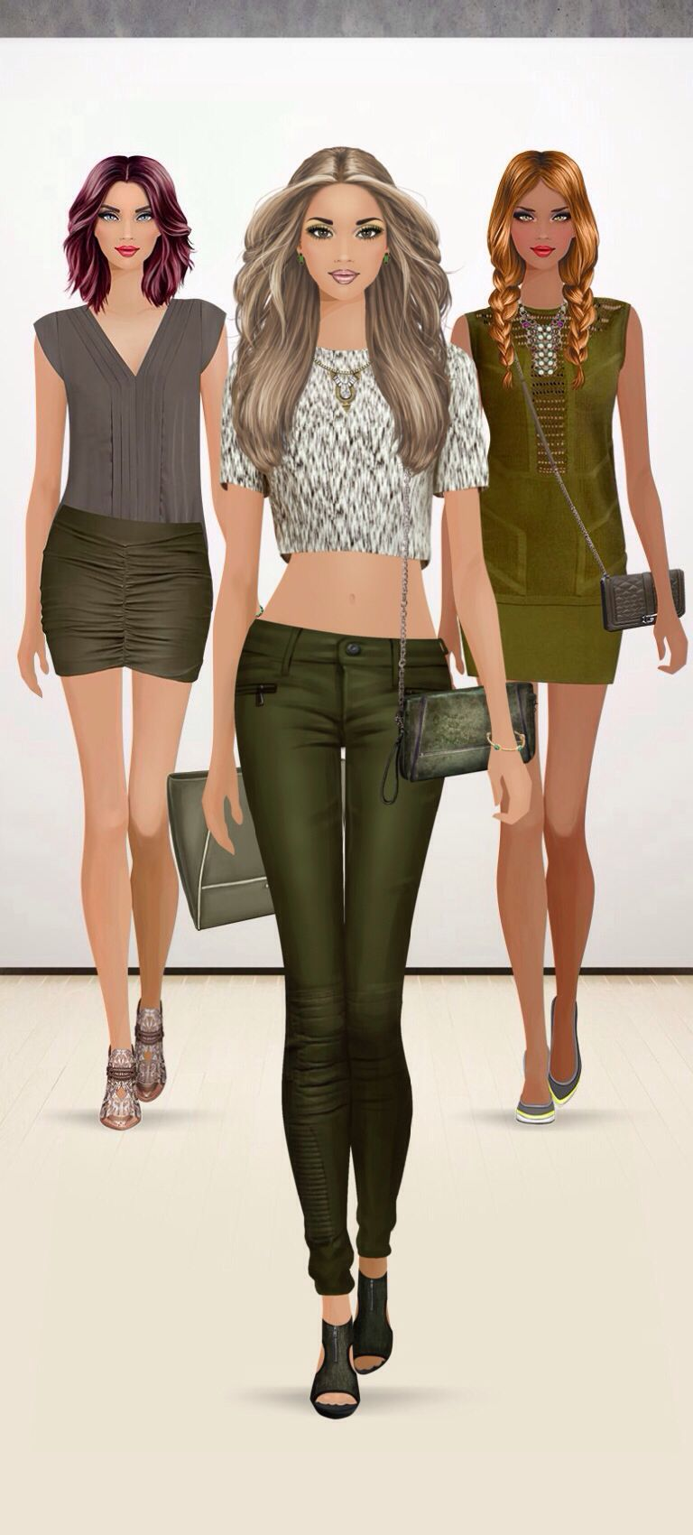 Style Match Olive Green Covet Fashion Pinterest Covet Fashion