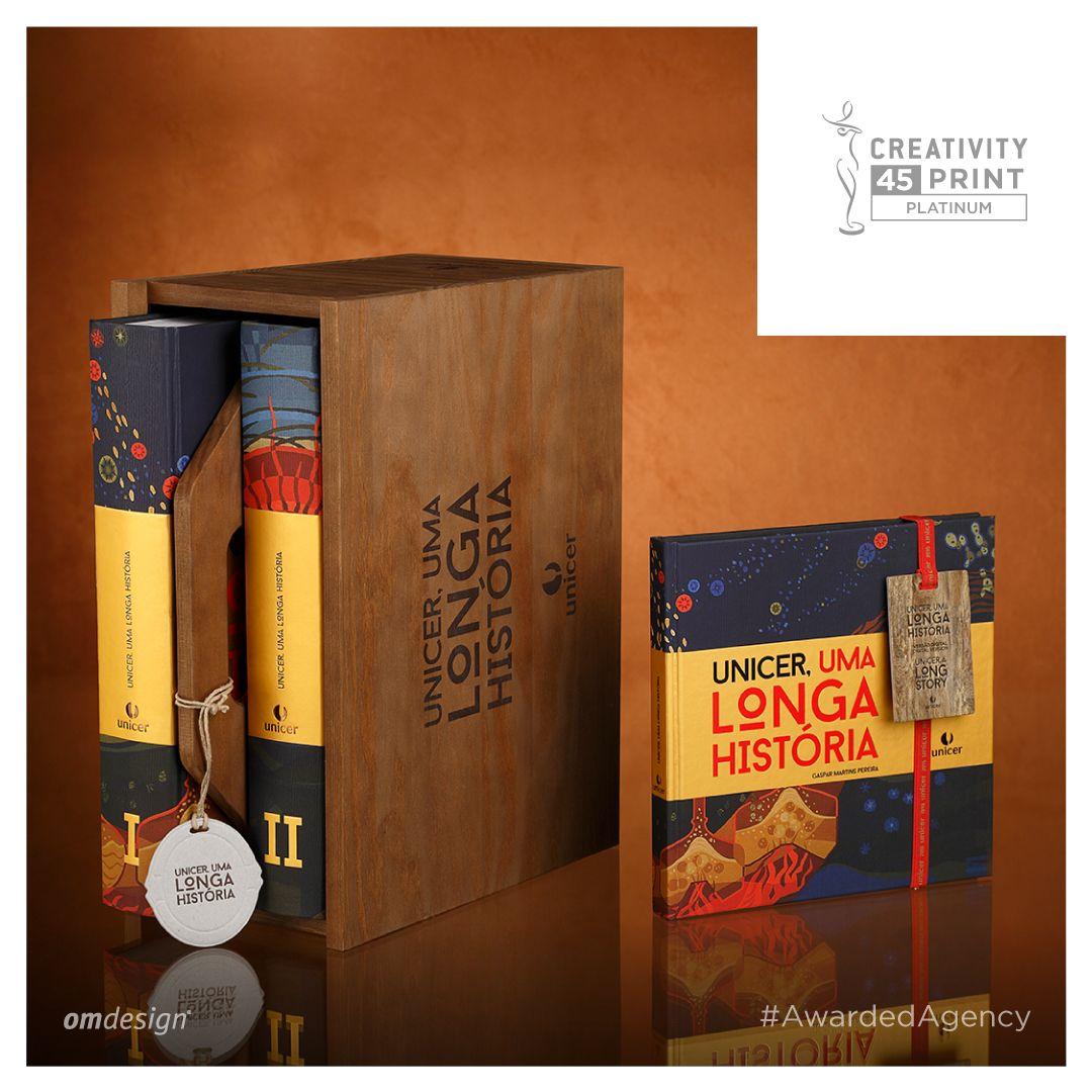 "Livro ""Unicer, uma longa história""  #Omdesign #Design #Portugal #LeçadaPalmeira #Since1998 #AwardedAgency #DesignAwards #BookDesign #Unicer #SuperBockGroup #Beer #Awards #Creativity #PlatinumAward #PlatinumWinner"