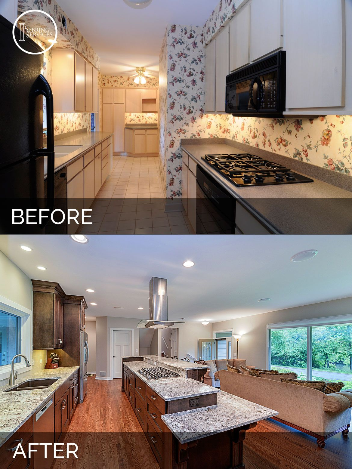 Dan & Ann's Kitchen Before & After Pictures In 2019