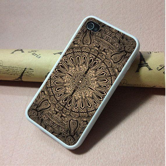 Mandala iPhone 4 Case, iPhone 4S Hard Case, cover skin ...