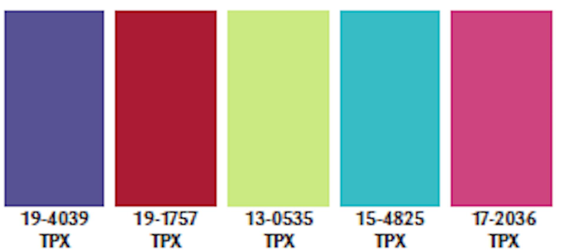 Color Palette Spring/Summer 2021