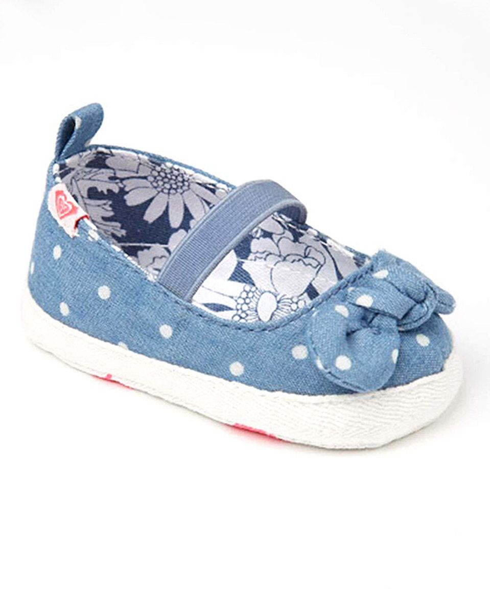 Another great find on #zulily! Roxy Chambray Baby Minnie Mary Jane by Roxy #zulilyfinds