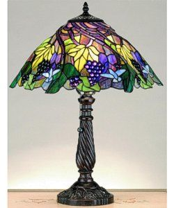 tiffany lamp full size patterns | Tiffany Style Mission