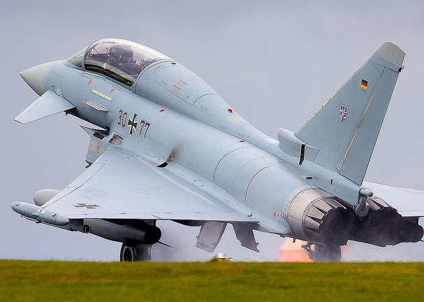 Eurofighter EF-2000 Typhoon - Luftwaffe | Fighter planes, Fighter jets,  Military aircraft