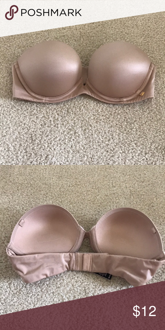 """discount up to 60% hoard as a rare commodity hot sale Victoria secret """"very sexy"""" strapless bra 30c. Worn once or ..."""
