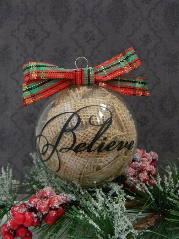 35 rustic diy christmas ornaments ideas pinterest diy christmas place a branch of christmas tree inside the clear glass ornament globe along with any little decorations you like description from moco choco solutioingenieria Gallery