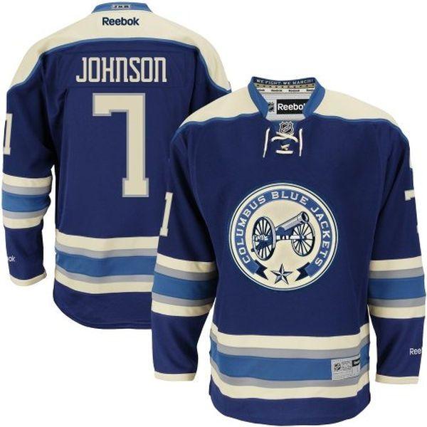 jack johnson columbus blue jackets jersey