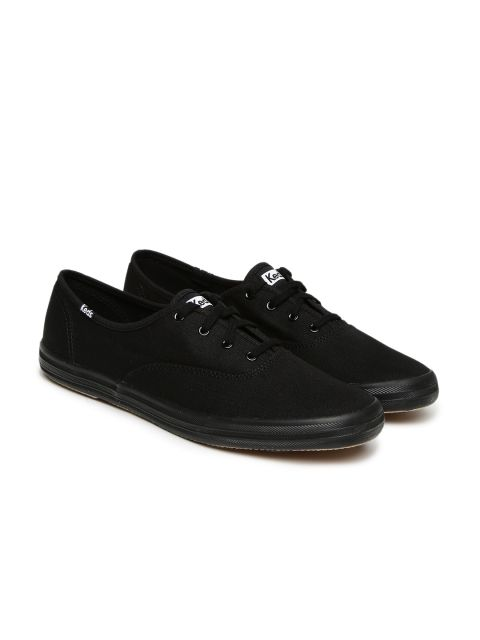 best service 945c7 c4961 Buy Keds Women Black Champion Solid Sneakers - Casual Shoes for Women    Myntra