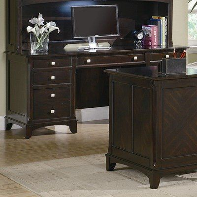 Evant Executive Desk By Wildon Home 947 09 801012 Features