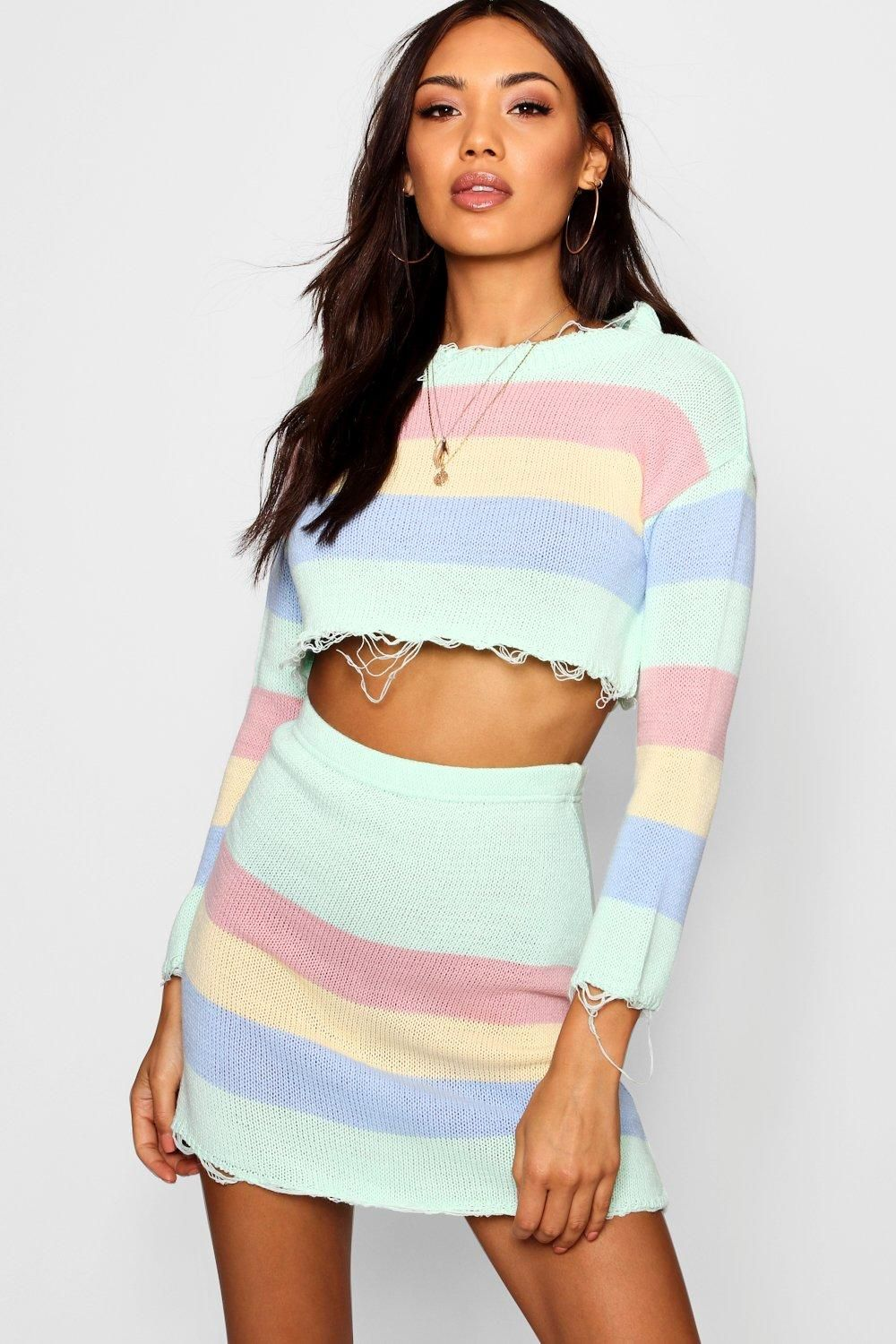 d78c46284febc Click here to find out about the Knitted Pastel Co-ord Set from Boohoo