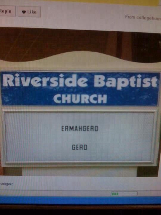 Best church EVER.