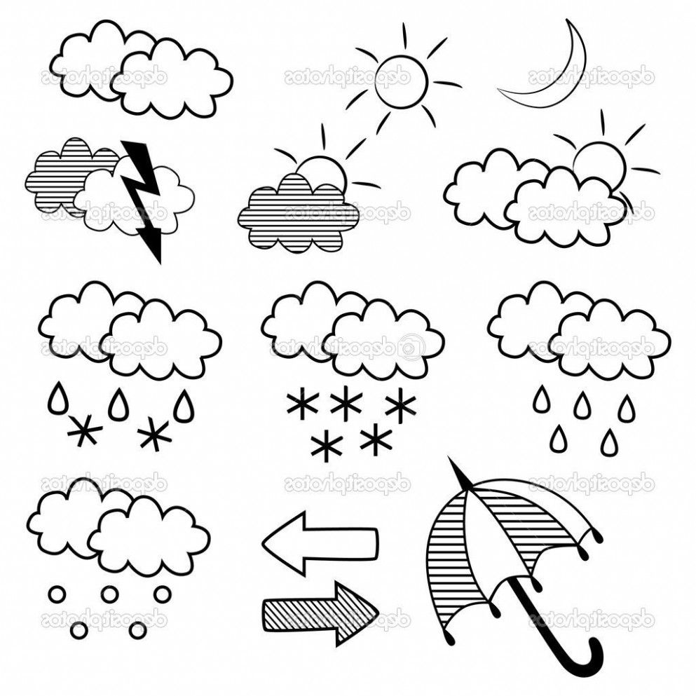 10 Common Mistakes Everyone Makes In Coloring Pages For Weather ...