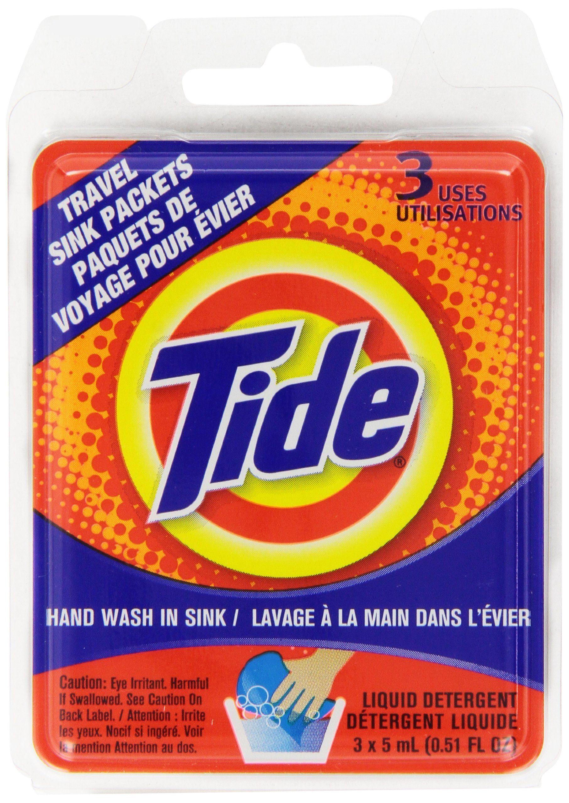 Tide Sink Pack Liquid Laundry Detergent 0 51oz Pack Of 12
