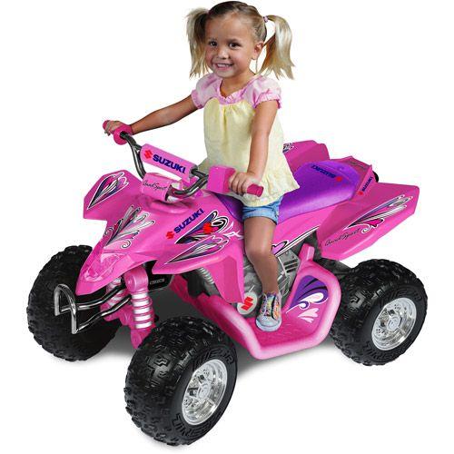 suzuki pink 12v quad atv ride on for xmas 17800