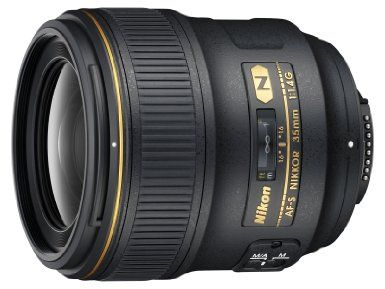 Amazon.com: Nikon 35mm f/1.4G AF-S FX SWM Nikkor Lens for Nikon Digital SLR Cameras: NIKON: Electronics