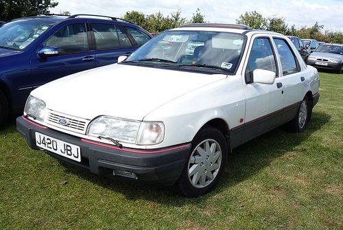 1991 92 Ford Sierra Sapphire Gls Ford Sierra Mid Size Car British Cars
