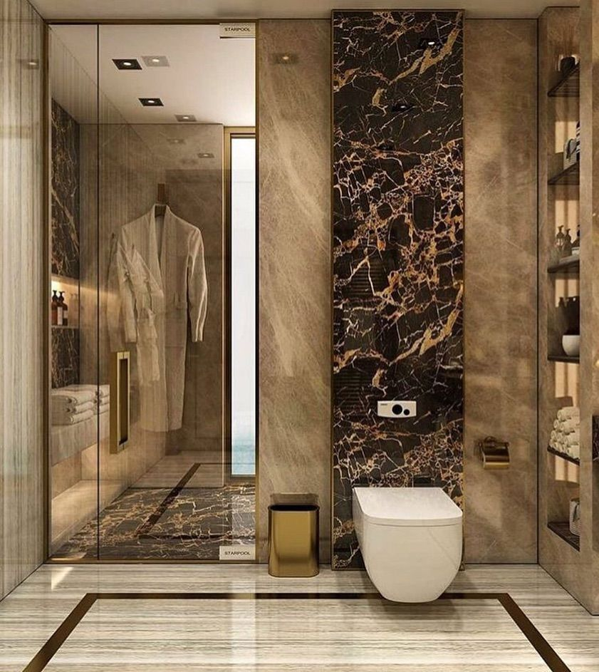 Luxury Interiors On Instagram Modern Bathroom Design Follow Interiors For More B Luxury Bathroom Master Baths Luxury Bathroom Modern Bathroom Design Famous ideas beautiful bathroom