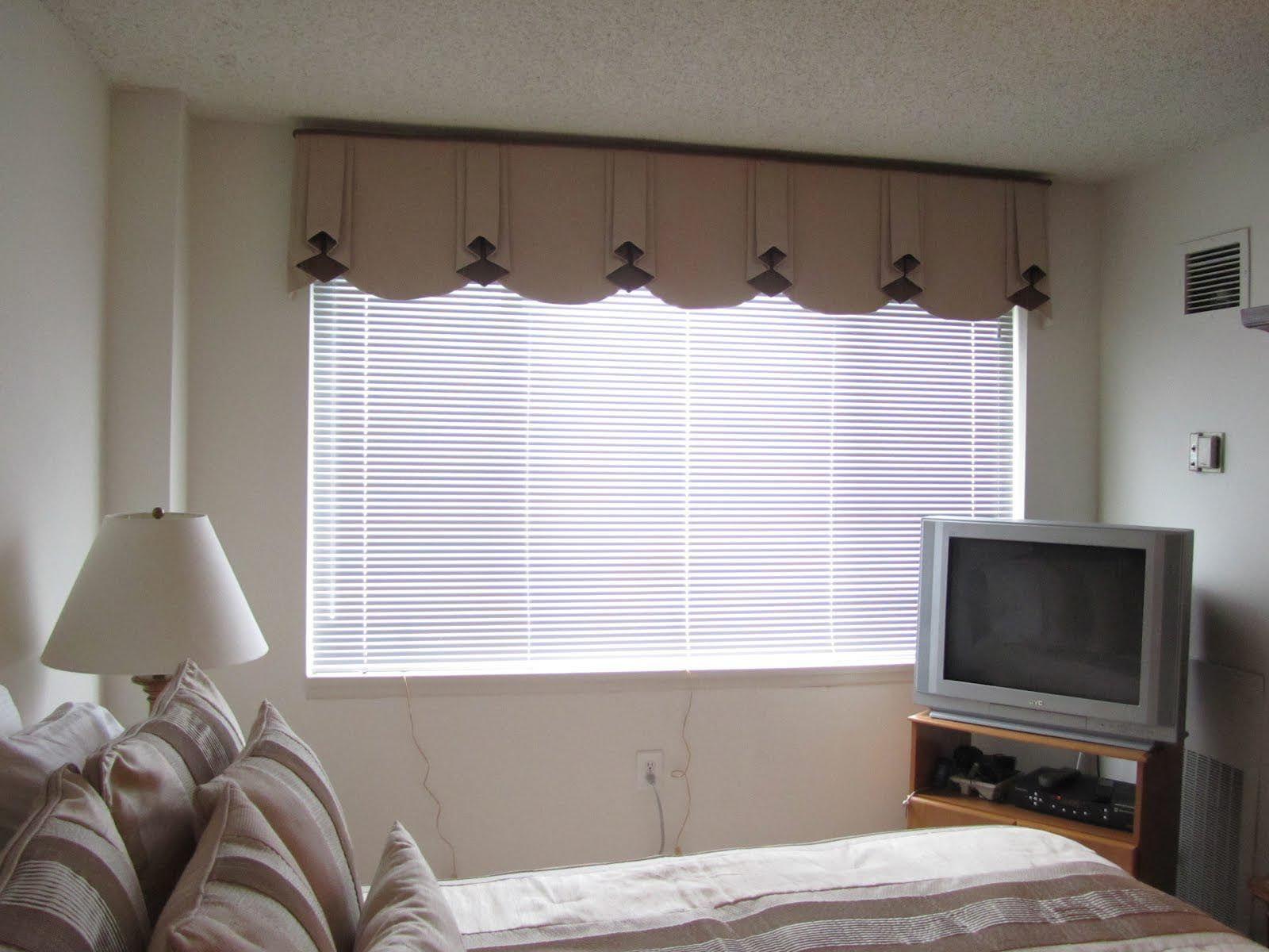 Valances for Bedroom Windows   Modern window coverings, Bedroom ...