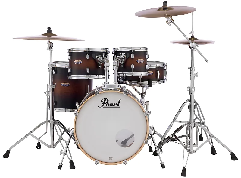 Pearl Decade Maple Satin Brown Burst 20x16 10x7 12x8 14x14 14x5 5
