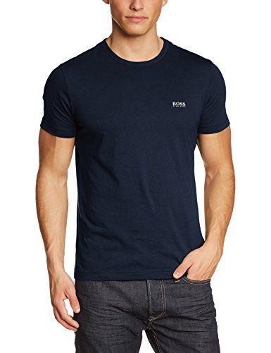 BOSS Green T Shirt TEE in Navy