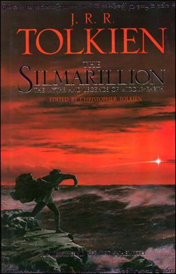 The Silmarillion.  More book covers at www.lilywight.com http://lilywight.com/2012/11/07/a-month-of-middle-earth/