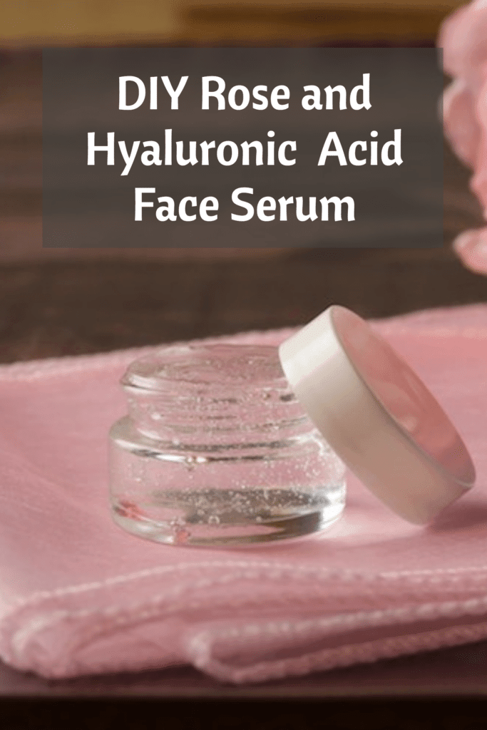 DIY Rose and Hyaluronic Acid Face Serum is part of Face serum, Diy roses, Anti aging skin products, Beauty skin care, Hyaluronic acid, Skin care - An extremely hydrating and plumping serum that you can mix up at home in minutes!