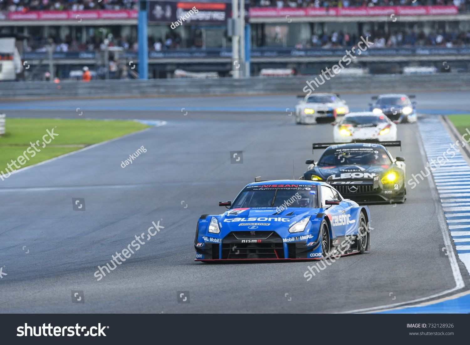 Buriram Thailand 8oct 2017 Chang Super Gt Race 2017 Round 7 Chang International Circuit Buriram Thailand Sponsored Ad In 2020 Photo Editing Stock Photos Racing