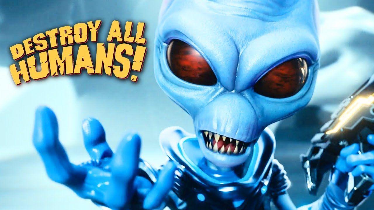 Destroy all humans official remake reveal trailer