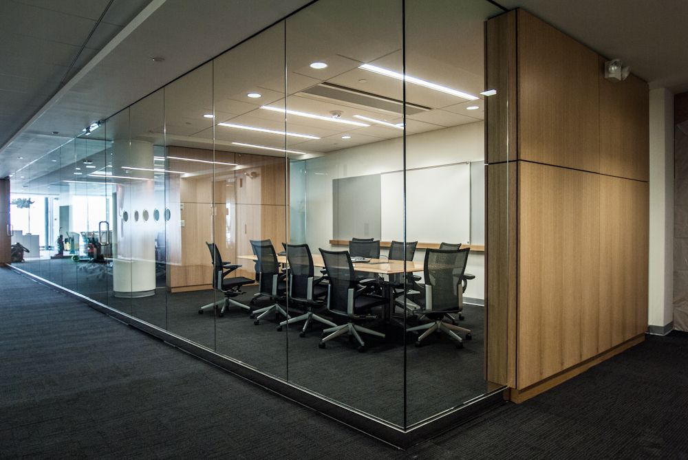 glass conference room walls Google Search Retail Pinterest