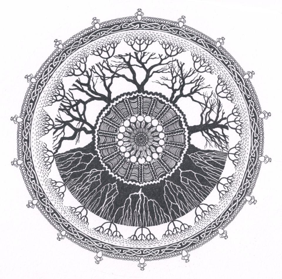 Tree mandala tattoos pinterest mandala tattoo and tatoos tatting buycottarizona Images