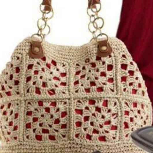 Bag Crochet tejidos Pinterest Bolsos, Ganchillo y Monederos