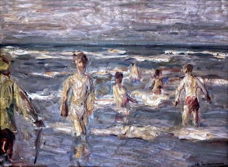 Swimmers, Max Liebermann, 1847