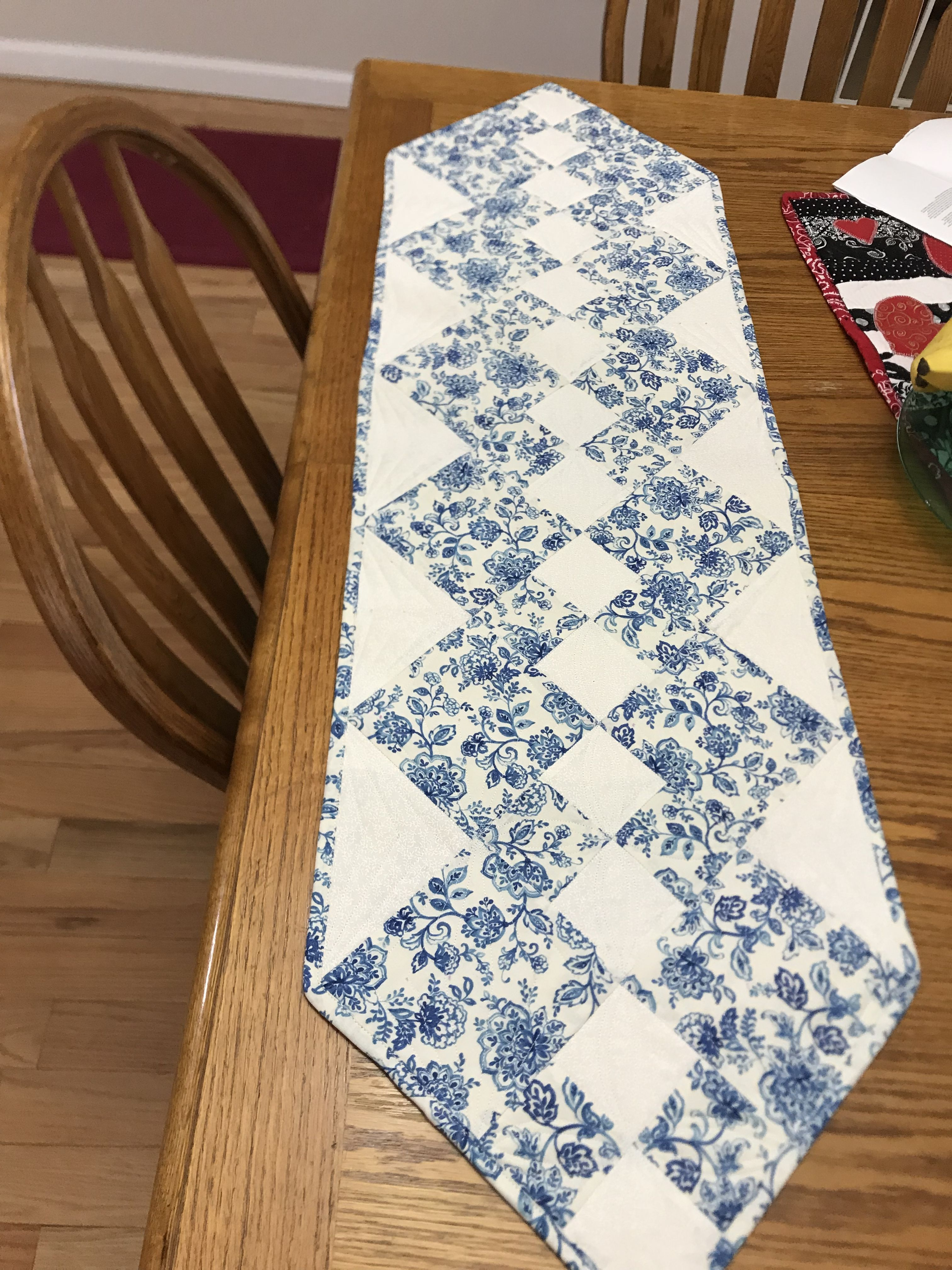 A French Country Style Table Runner For My Daughter 2018