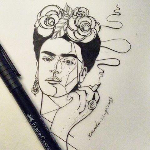 Frida Portrait Fridakahlo Ink On Instagram Frida Kahlo Tattoos Body Art Tattoos Frida Tattoo