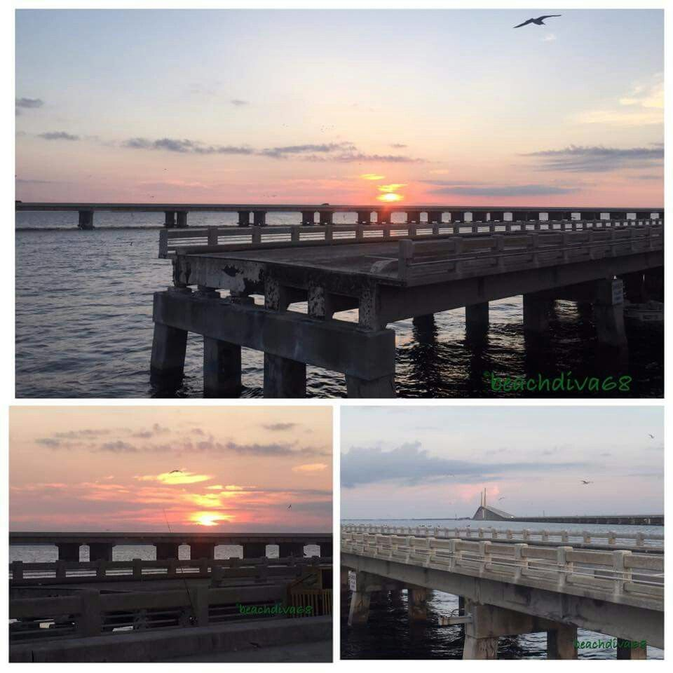 Sunshine Skyway South Bridge fishing pier Pier fishing