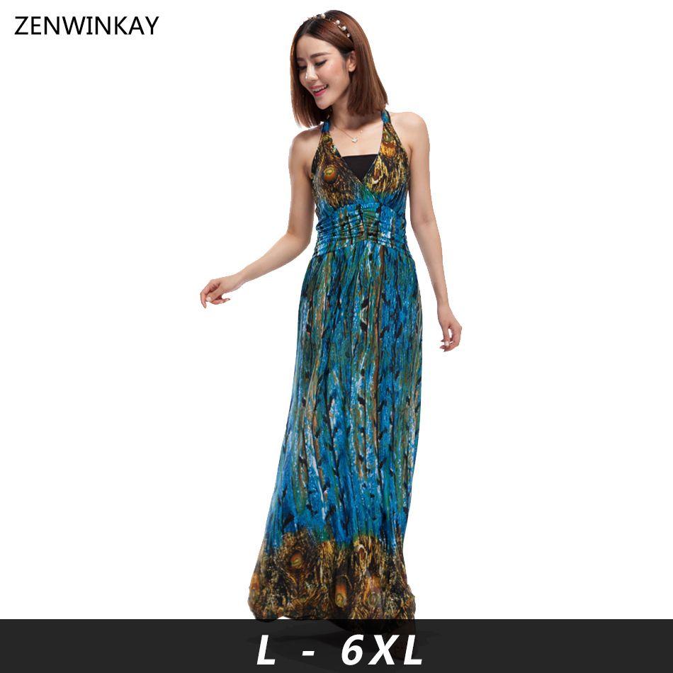 2016 Summer Women Dress Women\'s Sexy Long Sundress Femme Slip Maxi ...