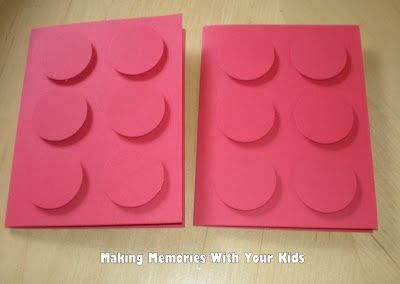 Lego Birthday Party: The Invitations - Making Memories With Your Kids