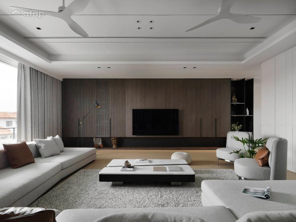 Centre Of Attention Bungalow Seremban 2 Architectural Interior Design Renovation Ideas Photos And Pr Interior Design Interior Interior Design Living Room