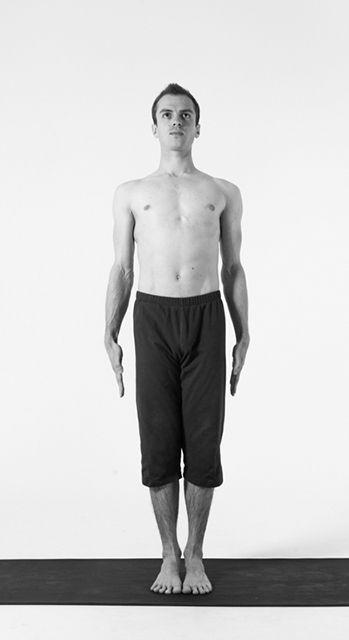 Tadasana Mountain Pose Jack Cuneo Cool Yoga Poses Yoga Poses Poses
