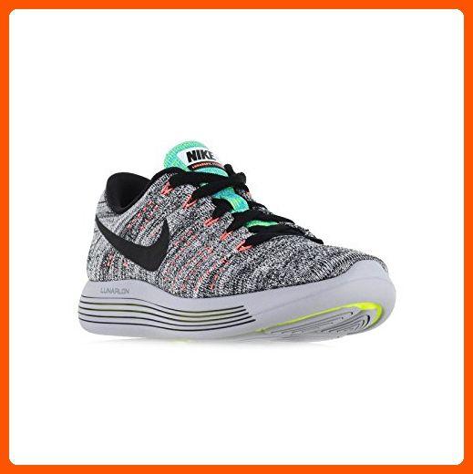 big sale bd3b7 087ff Nike Womens Lunarepic Low Flyknit Running Shoes White/Black ...