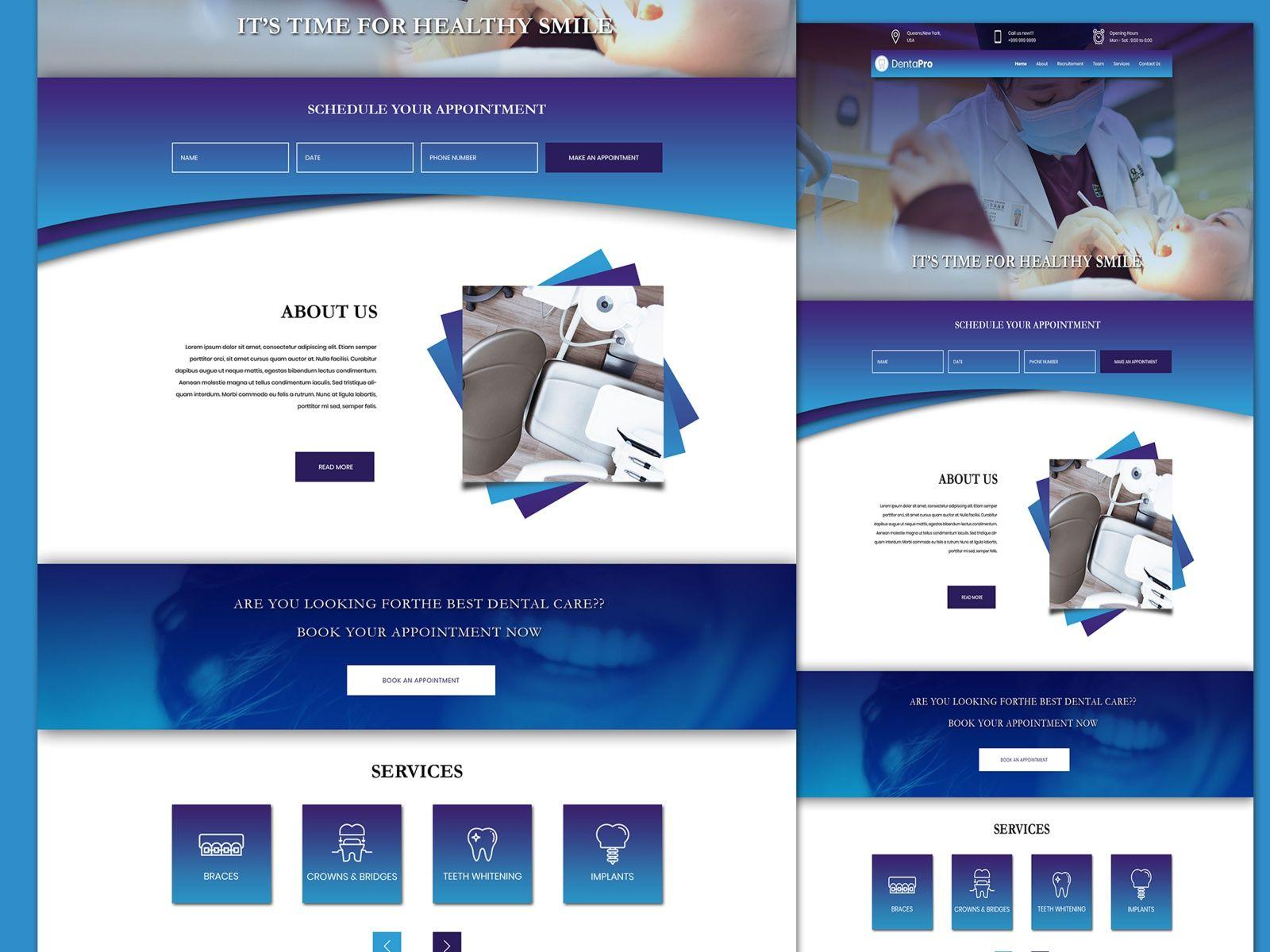 Dental Website In 2020 Dental Website Dental Website