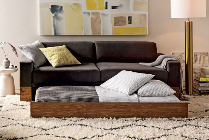 The Best Sleeper Sofas According To Interior Designers Best Sleeper Sofa Modern Sleeper Sofa Comfortable Couch
