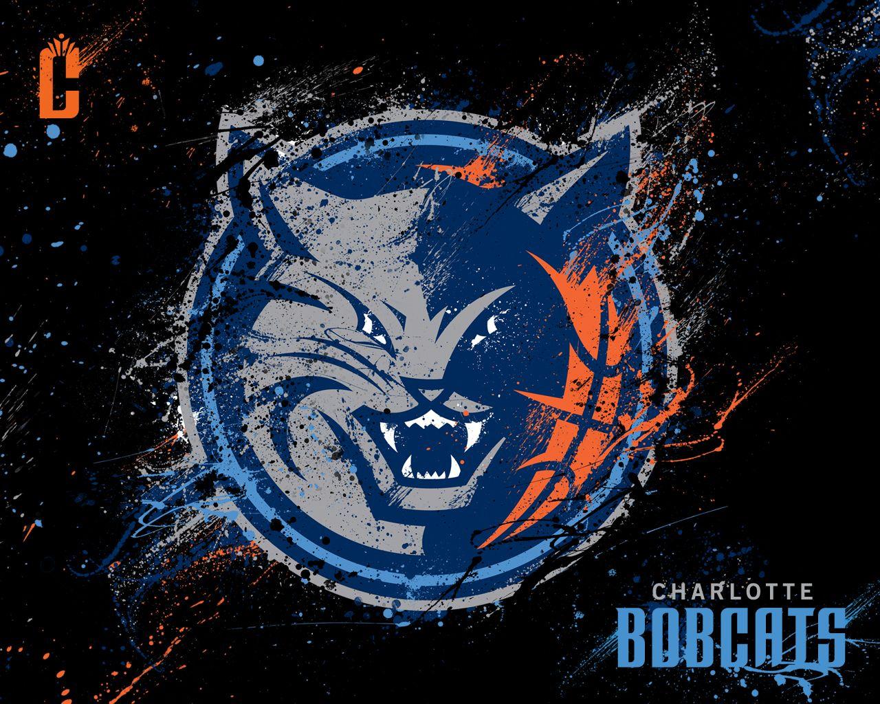 Charlotte Bobcats Logo Charlotte Bobcats