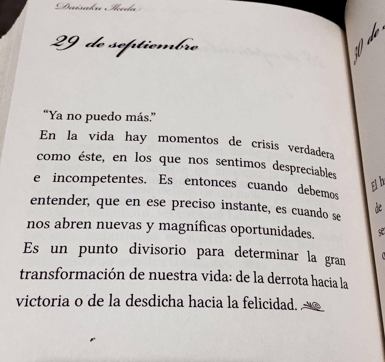 Del Libro Joyas Del Corazón Daisaku Ikeda Frases