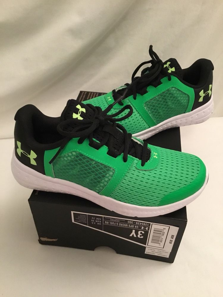 huge selection of 965d7 c1597 New Under Armour Boys BGS Micro G Fuel RN Shoes Sneakers ...